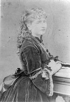Ellen Ternan, Charles Dickens' long term mistress.  Subject of The Invisible Woman biography by Claire Tomalin and the 2013 movie of the same name