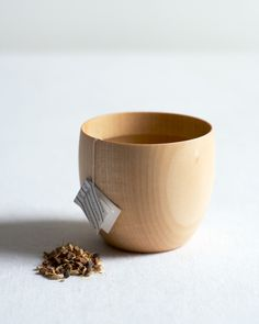 wood mugs - great for tea or coffee