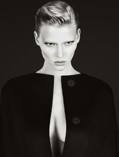 Lara Stone for Calvin Klein 2010 Campaign by Mert & Marcus.