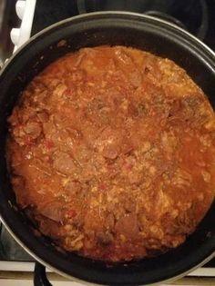 Zúzapörkölt sertésvelővel Food, Essen, Meals, Yemek, Eten