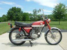 1971 Honda CB100 - not for long