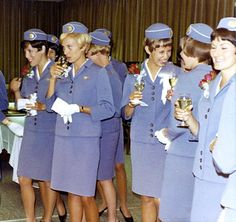 Pan Am stewardesses 1960s