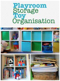 Playroom Ideas, Playroom Storage, Ikea Expedit