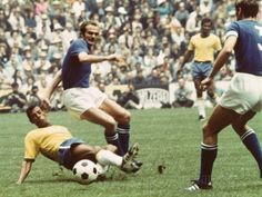 World Cup Final 1970, Brazil vs Italy Photographic Print - by AllPosters.ie