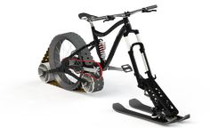 Quebec students aim to develop a more authentic snow bike