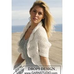 Funky Free Knit Shrug Pattern | 60 bolero shrug free knitting patterns crochetpatterns knit