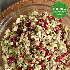 Thanksgiving, Meet the Millet, Lentil, and Pomegranate Salad