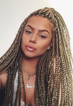 Image result for box braids white girl