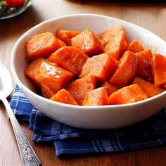 Glazed Sweet Potatoes Recipe | Taste of Home