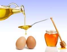 Prepare an egg mask, it'll make your hair shine! Just mix some eggs, a little bit of olive oil and spoon of honey.