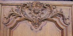 108: набор из трех французских резные дубовые панели стены : Лот 108