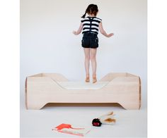 Drooling over this awesome bed for my toddler! From Kalon Studios.