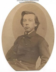 John Mead Gould, ca. 1860. John Mead Gould (1839-1930), a native of Portland, was an author and historian. He is shown at about age 21. He wrote a history of the First-Tenth-Twenty-ninth Maine Regiments of the Civil War, in which he served. Item # 61960 on Maine Memory Network