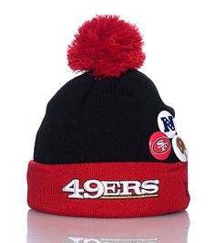 598ff676117 NEW ERA 49ERS POM POM BEANIE WITH BUTTONS-yWFMbM9f Frisco Kid