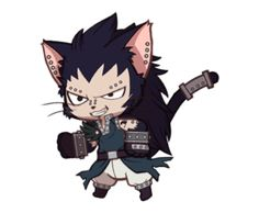 I FUCKIN LOVED THE EPISODE THAT GAJEEL GOT TURNED INTO A CAT