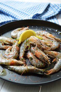 Grilled prawns | Grilované krevety