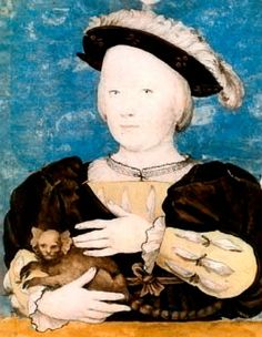 "Hans Holbein el Joven ""Edward, Prince of Wales, with Monkey"""