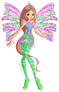 Winx Club - Flora Journalist by Cyberwinx on DeviantArt Winx Club, Twilight Equestria Girl, Winx Magic, Les Winx, Flora Winx, Adrien Y Marinette, Editing Background, Fire Dragon, Disney And More