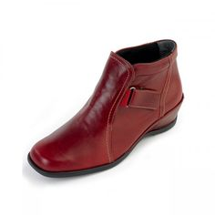 Sasha Ladies Boot E in Cherry Red