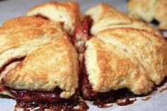 Jam Filled Scones