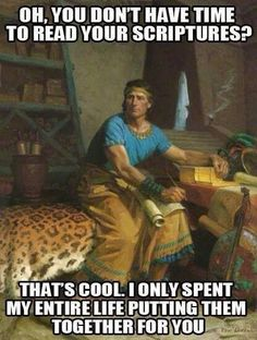 Oh you don't have time? Hahaha mormon memes     #MormonMemes #LDSMemes