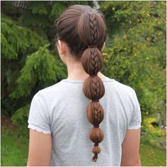 """Bubble ponytail #braidideas #hairsandstyles #hblweeklychallenge3 #instabraid #braidphotos #braidsforgirls #long_hair"" Photo taken by @katharina_braids on Instagram, pinned via the InstaPin iOS App! http://www.instapinapp.com (08/04/2015)"