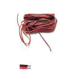 1 m 2 m 3 m 4 m 5 m 10 m 20 m 50 m 100 m 2 Pin LED cable para 5050 5630 3528 solo color Tira Extender Cable de Extensión Cable conector