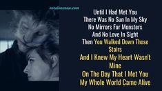 Only Lyrics, Best Song Lyrics, Me Too Lyrics, Yours Lyrics, Just You And Me, I Meet You, Im Falling In Love, Love Matters, Dance Sing