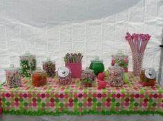 Candy Buffet for Blake's 13th Birthday Party