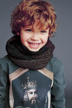 Love this shade of green -dolce and gabbana winter 2015 child collection 48