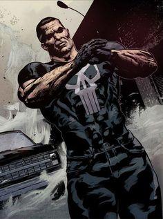 The Punisher by Syzmon Kudranski