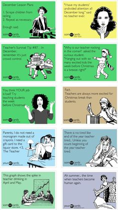 12 Reasons Why You Are An Amazing Teacher (even if you can relate too well with these memes). A little teacher humor. Motivational Monday