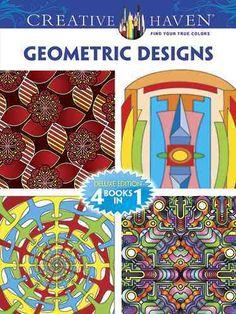 Geometric Designs Coloring Book