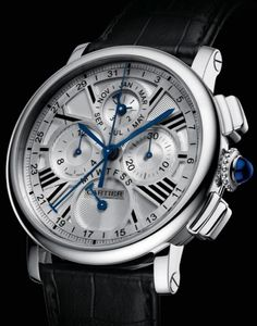 Listing of 2013 Cartier watches. This year Cartier Fine Watchmaking several new novelites, two of which were very impressive mystery watches. Dream Watches, Fine Watches, Luxury Watches, Cool Watches, Watches For Men, Female Watches, Estilo Cool, Herren Chronograph, Stylish Watches