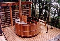 Well, it's not tiny house related, but I am certainly excited! We were able to pick up a wood fired cedar soaking tub for a good deal on Cra...