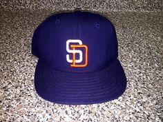 894d2063b Vintage 1998 San Diego Padres New Era Hat snapback jersey world series  trevor hoffman manny machado adrian gonzalez rollie fingers sheffield
