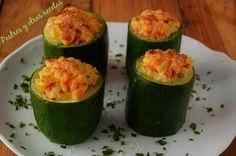Calabacines rellenos ¡ Deliciosos ! postresyotrasrecetas.blogspot.com