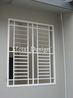 Simple Grill Design For Window Modern House - House window grill design images simple iron windows grills Love the simple n modern design of this window grill Simple window grill designs in. Grill Door Design, Grill Design, Grill Gate Design, Balcony Grill Design, Modern Window Grill, Steel Door Design, Balcony Grill, Modern Windows, Window Design