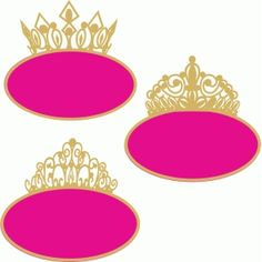 silhouette design store crown circle labels