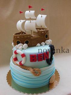 Boat cake - Cake by Novanka