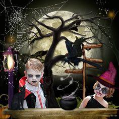 Dark October by Stephy Scrap