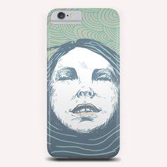 """Sea-face"" Phone Case by Tzigone on Artsider.com"