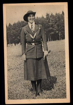SCOUTING, Lady Baden Powell