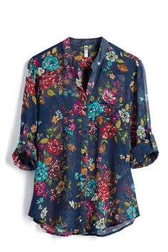 Stitch Fix pretty floral shirt Look Cool, Cool Style, My Style, Look Fashion, Fashion Outfits, Stitch Fix Outfits, Stitch Fix Stylist, Work Attire, Get Dressed