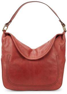 3b0cc2aa93a6 Frye Women s Campus Rivet Leather Hobo Bag Hobo Bags