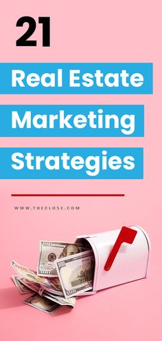 Get more real estate leads brand recognition and grow your business with these 21 creative real estate marketing strategies! Real Estate Career, Real Estate Business, Real Estate Leads, Real Estate Investor, Real Estate Tips, Real Estate Marketing, Internet Marketing, Online Marketing, Lead Marketing