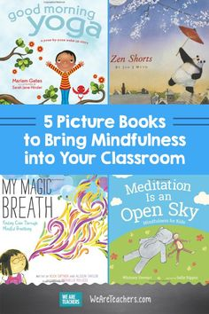 How I Use Picture Books to Teach Mindfulness in Middle School. There are many reasons for a teacher to use picture books in their classroom. One is for mindfulness. Check out these books that you can use to teach your students about being mindful. Mindfulness For Teachers, Mindfulness Books, What Is Mindfulness, Mindfulness Activities, Teaching Mindfulness, Building Classroom Community, Kids Poems, Social Emotional Learning, Best Books To Read