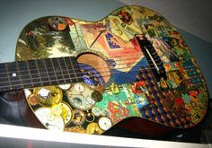 Regina's cool guitar by Cunning Stunt, via Flickr