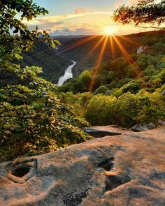 New River Gorge sunrise