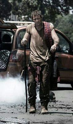 Looks like the world's sexiest zombie